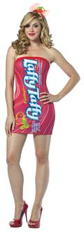 Women's Laffy Taffy Tube Dress Adult Costume - Multi-colored