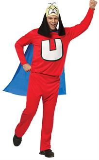 Men's Underdog Adult Costume - Red/White/Blue - One-Size (Standard)