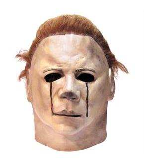 Women's Halloween 2 - Michael Myers 1981 Blood Tears Adult Mask