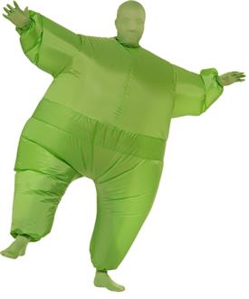 Men's Green Inflatable Adult Suit - Green - Standard