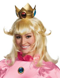 Women's Super Mario Bros. - Princess Peach Wig - Blonde - One-Size