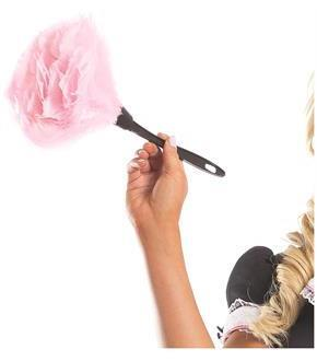 Women's Feather Duster - Pink - O/S for Easter Day