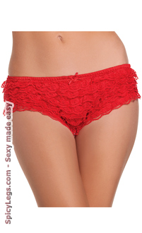 Women's Hot Pants Ruffle Shorts