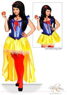 Women's 5 PC Sexy Poisoned Apple Costume for Halloween