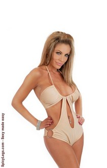 Women's Halter O-Ring Monokini - One Size