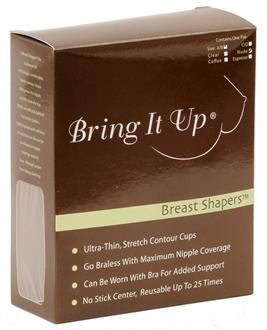 Women's Bring it up breast shapers - One Size
