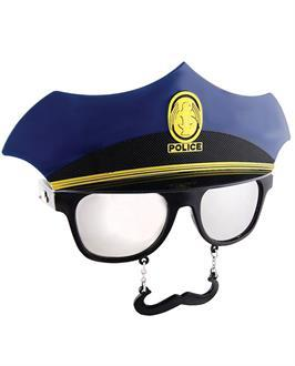 Men's Sun Staches Police - Standard