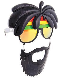 Men's Sun Staches Rasta - Standard