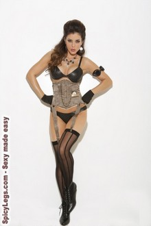 Women's Waist cincher with hook and eye front