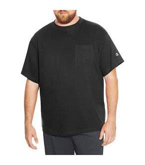 Champion Big and Tall Men's Short Sleeve Pocket Jersey Tee