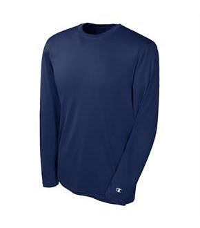 Men's Champion Double Dry Long Sleeve Tee