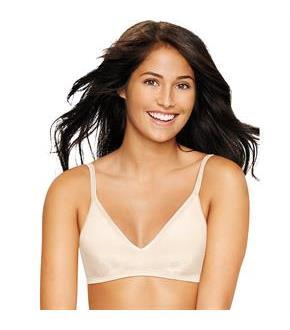Women's Hanes Ultimate Comfy Support ComfortFlex Fit Wirefree Bra