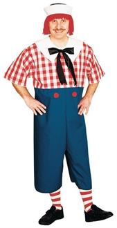 Men's Raggedy Andy Adult Costume - Standard for Halloween