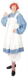 Women's Raggedy Ann Plus Size Costume - Standard for Halloween