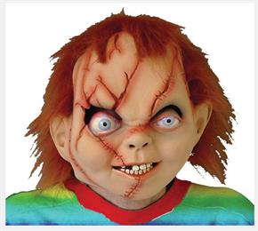 Men's Chucky Seed Of Latex Mask - Standard for Halloween