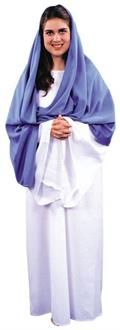Women's Mary Costume - Standard for Halloween