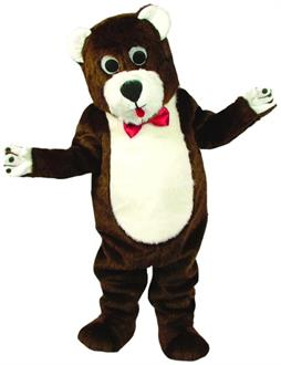 Teddy Bear Mascot As Pictured Costume - Standard