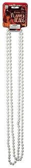 Women's Pearl Necklace Costume Accessory - Standard