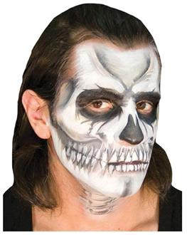 Ez Voo Doo Skull Makeup Accessory Kit - Standard