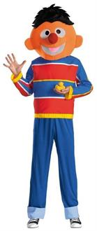 Men's Retro Ernie Adult Funny Sesame Street Costume