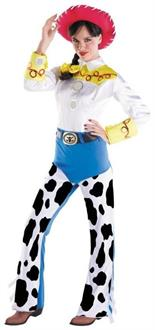 Women's Jessie Deluxe Cowgirl Adult costume