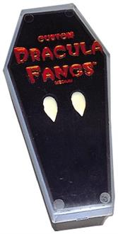 Fangs Vampire In Coffin Accessory