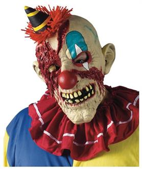 Men's Fearsome Faces Clown Mask - Standard