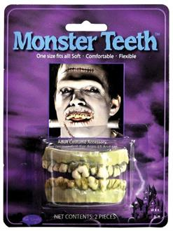Men's Teeth Monster Accessory - Standard