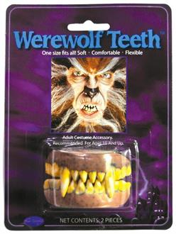 Men's Teeth Werewolf Accessory - Standard