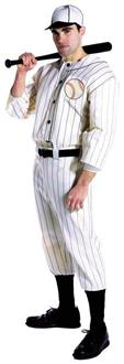 Men's Old Tyme Baseball Player Adult Costume - Standard