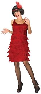Women's Red Flapper Costume