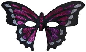 Purple Butterfly Masquerade Mask