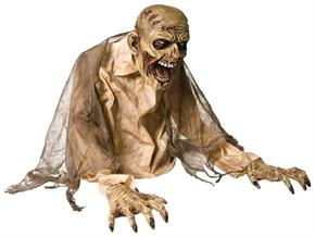 Gaseous Zombie Animated Fog Halloween Prop - Standard