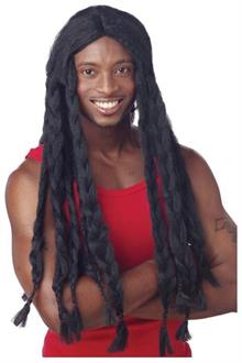 Men's Rasta Braided Wig - Standard