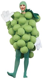 Women's Grapes Green Adult Costume - Standard for St. Patrick's Day