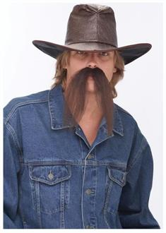 Mustache The Western Brown