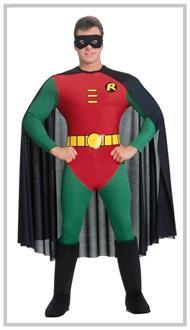 Robin Deluxe Adult Large Costume