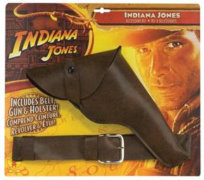 Men's Indi Jones Gun W/Belt/Holster Accessory - Standard