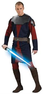 Men's Anakin Skywalker Deluxe Adult Costume