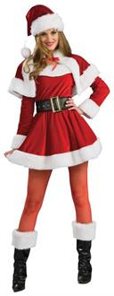 Women's Santa's Helper Adult Costume