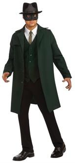 Men's Green Hornet Deluxe Costume