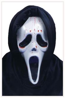 Men's Scream Mask With Blood And Pump - Standard
