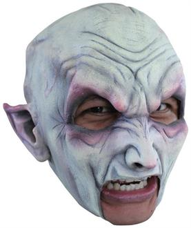 Men's Vampire Latex Mask - Standard