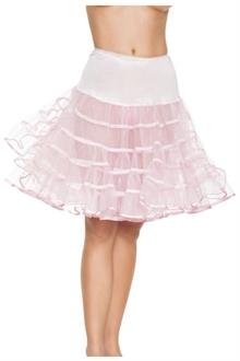 Petticoat White Knee Length