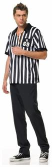 Referee Shirt Mens Costume