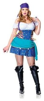 Women's Gypsy Princess Adult Costume - Standard