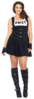 Women's Sultry Swat Costume