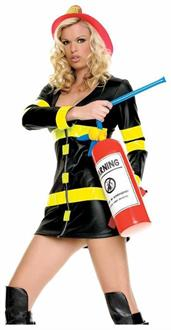 Women's Inflatable Fire Extinguisher Accessory - Standard