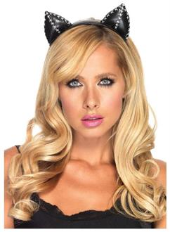 Women's Cat Ears Stitch Accessory - Standard