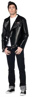 Men's Grease T Bird Leather Jacket Costume